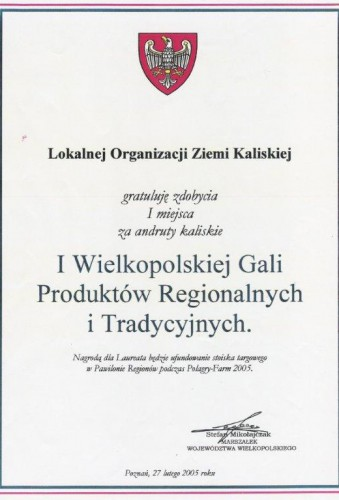 gala produktów regionalnych