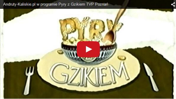 Andruty Kaliskie w programie Pyry z Gzikiem TVP Poznań