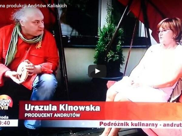 Wizyta TVN na produkcji Andrutów Kaliskich